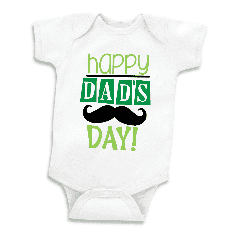 Happy First Father's Day Bodysuit, Father's Day Gift for Dad