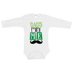 Dad's Mini Me First Father's Day Bodysuit, Father's Day Gift for Daddy