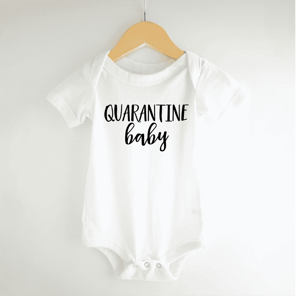 Quarantine Baby Pregnancy Announcement for Grandparents