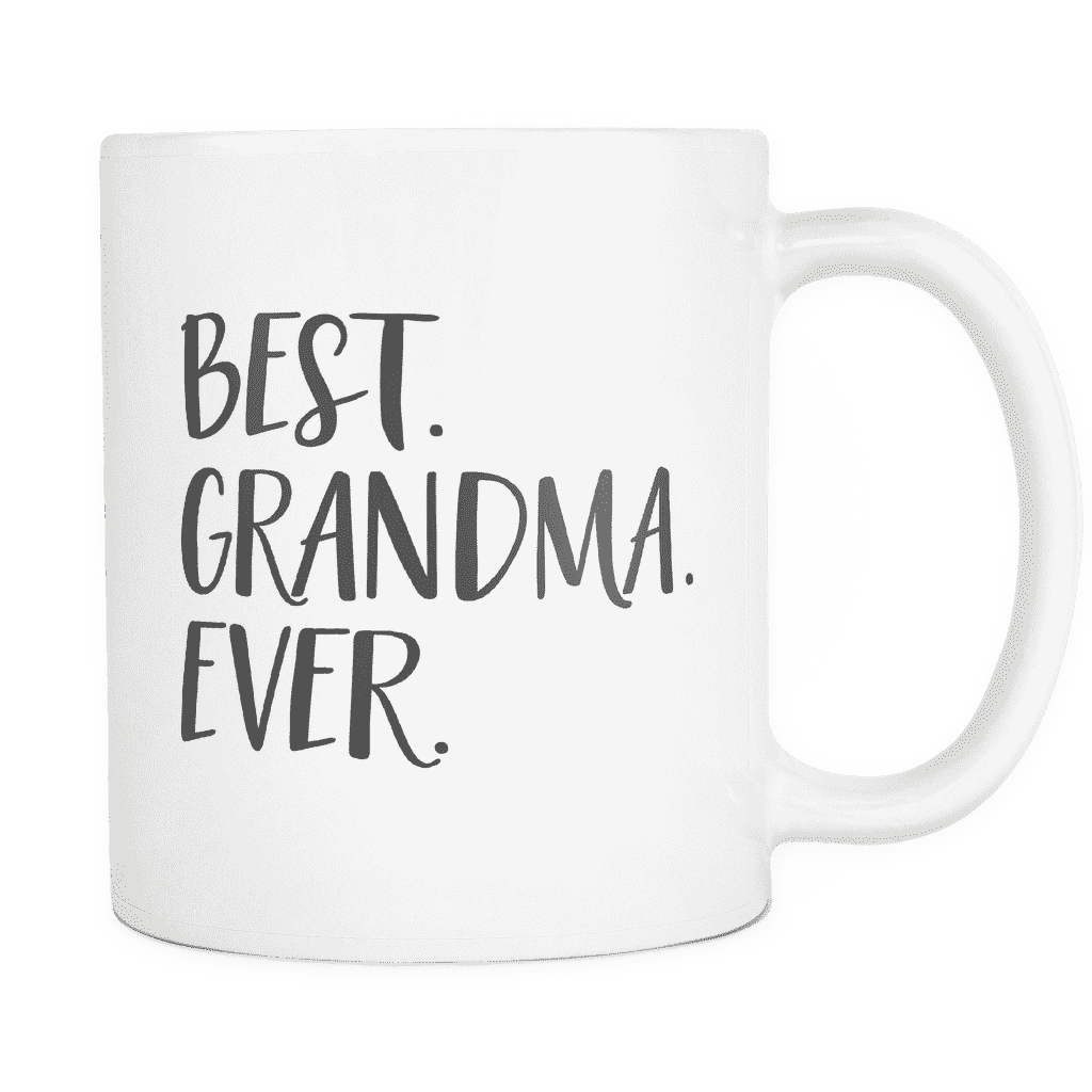 Best Grandma Ever Coffee Mug, Pregnancy Announcement - Bump and Beyond Designs
