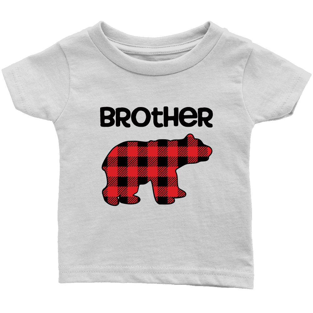Brother Bear Buffalo Plaid Shirt - Bump and Beyond Designs