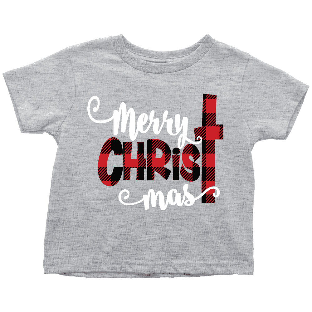 Merry Christmas Shirt, Youth Christmas T-Shirt - Bump and Beyond Designs