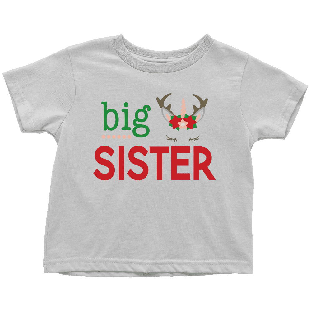 Christmas Big Sister Shirt - Bump and Beyond Designs