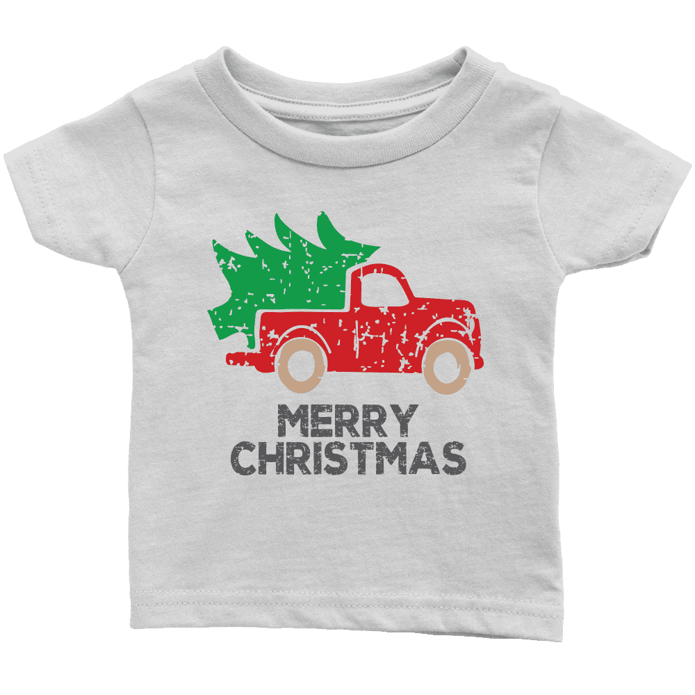 Youth Merry Christmas Shirt Toddler T-Shirt for Christmas - Bump and Beyond Designs