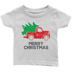 Youth Merry Christmas Shirt Toddler T-Shirt for Christmas