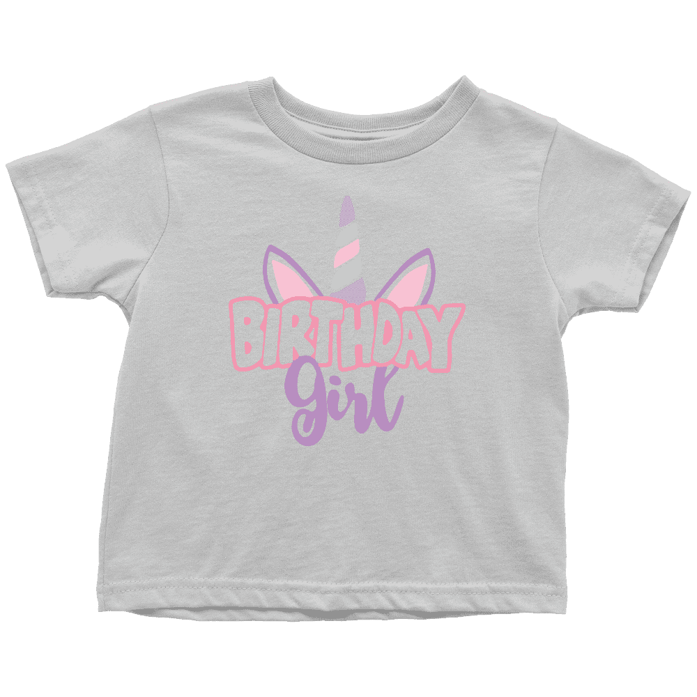 Unicorn Birthday Girl Shirt