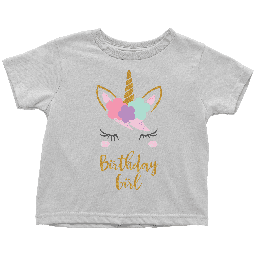Unicorn Birthday Girl Shirt - Bump and Beyond Designs