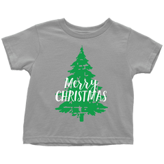Merry Christmas Toddler T-Shirt - Bump and Beyond Designs