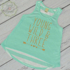 Bump and Beyond Designs Girl 4th Birthday Outfit Four Year Old Birthday Girl Tank Top