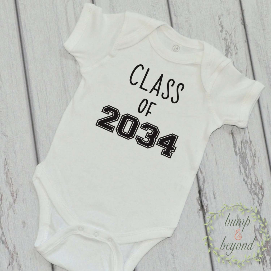Class of 2034 Infant One Piece Outfit - Bump and Beyond Designs