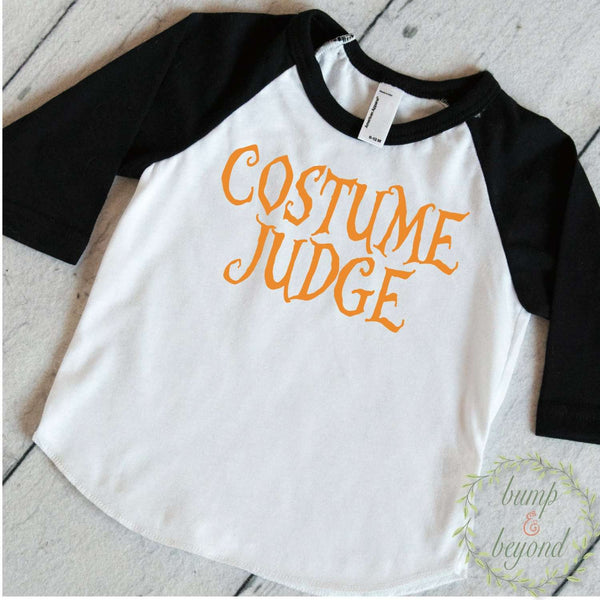 Toddler Halloween Outfit, Custume Judge, Baby Halloween Clothes, Boy Halloween Outfit,  Halloween Shirt for Toddler 016 - Bump and Beyond Designs