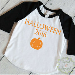 Halloween Shirt for Kids, First Halloween Boy, First Halloween Outfit, Baby Halloween Outfit, Baby Halloween Clothes 020 - Bump and Beyond Designs
