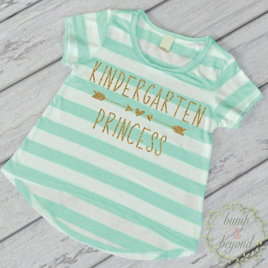 First Day of School Shirt Kindergarten Shirt 1st Day of Kindergarten Shirt Pre K Shirt Back to School Outfit 238 - Bump and Beyond Designs