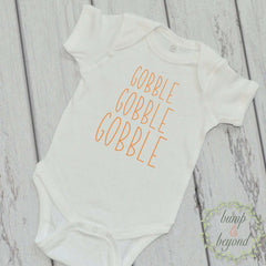 Baby Boy Thanksgiving Outfit Baby's First Thanksgiving Outfit My First Thanksgiving Newborn Thanksgiving Outfit Baby Thanksgiving Outfit 004 - Bump and Beyond Designs