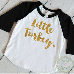 Babys First Thanksgiving, First Thanksgiving Outfit, Turkey Shirt, Baby Girl Thanksgiving Outfit, Thanksgiving Shirt Toddler Fall Outfit 013 - Bump and Beyond Designs