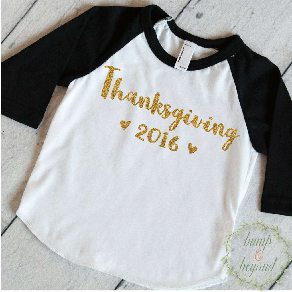 Baby First Thanksgiving Outfit, Thanksgiving Outfit Toddler, Kids Thanksgiving Shirts, First Thanksgiving Outfit Girl 017 - Bump and Beyond Designs