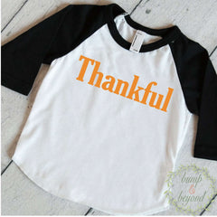 Thanksgiving Outfit Boy, Thankful Shirt, Baby Boy Thanksgiving Outfits, Baby Thanksgiving Outfit, Kids Thanksgiving Shirts 024 - Bump and Beyond Designs