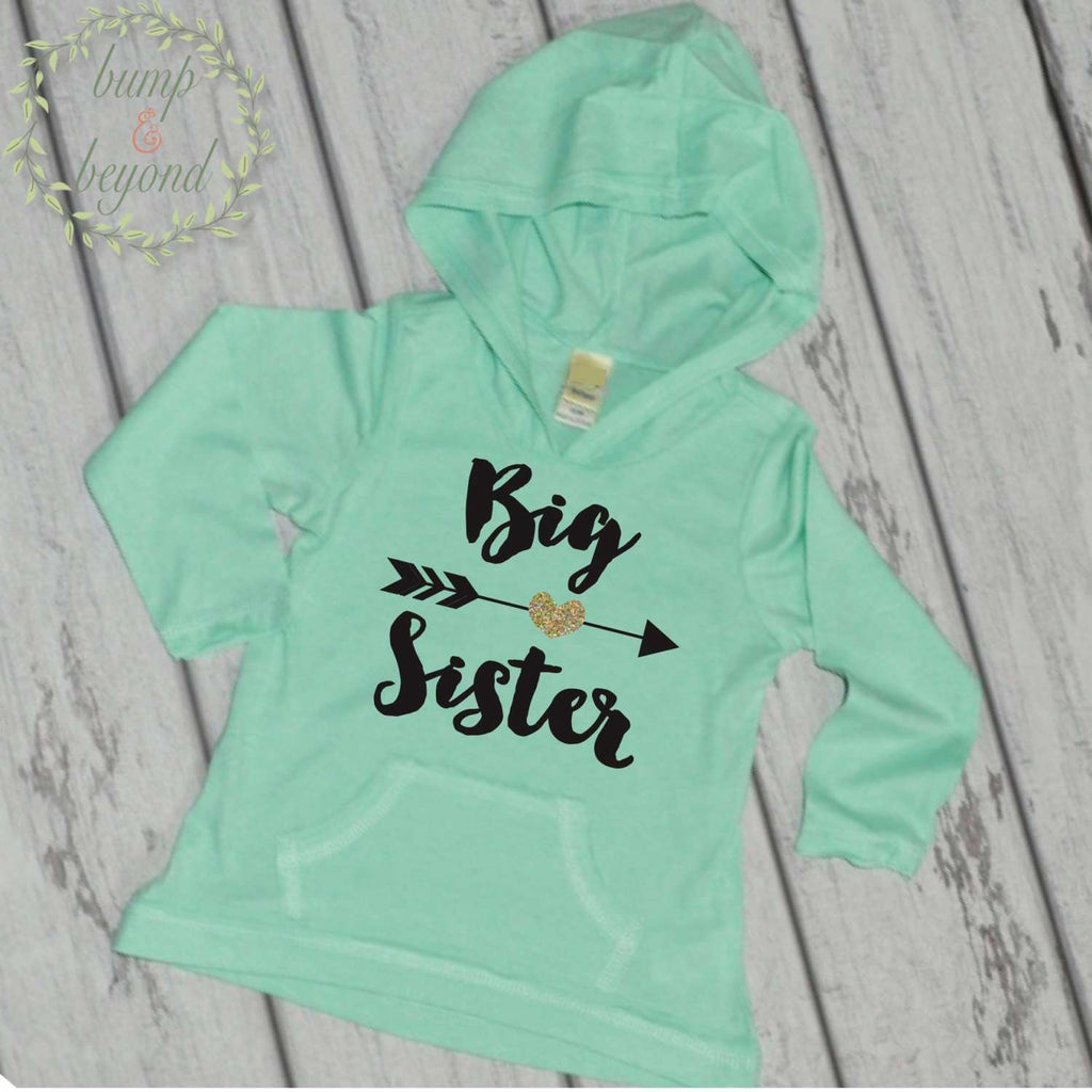 Big Sister Shirt, Big Sister Little Sister Outfits, Big Sister Announcement Shirt, Big Sister Outfit, Big Sister Gift 037 - Bump and Beyond Designs