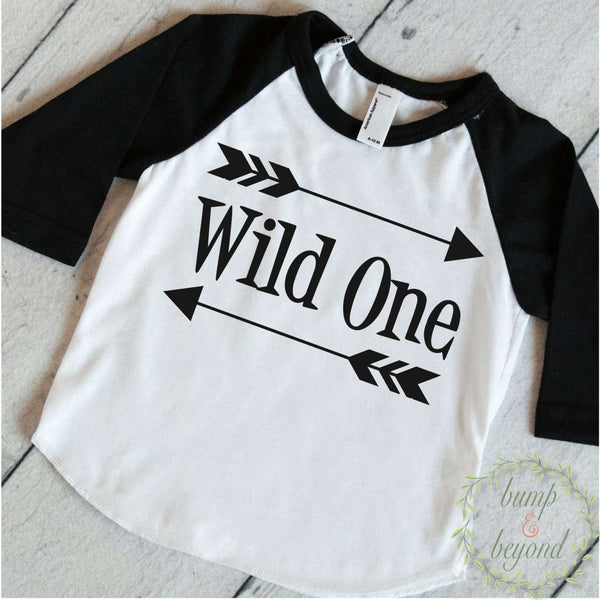 Wild One First Birthday Shirt Boy 1st Birthday Outfit