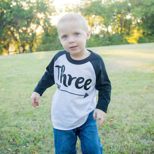 3 Year Old Birthday Shirt Boy Three Years Old Birthday Outfit Raglan Toddler Shirt 3rd Birthday Shirt Hipster Boy Clothes 113 - Bump and Beyond Designs