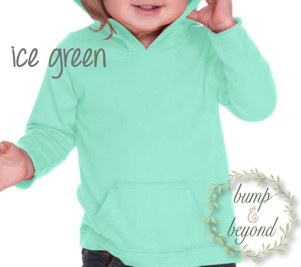 First Birthday Hoodie, Gold Lettering - Bump and Beyond Designs