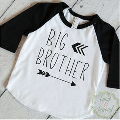 Big Brother Shirt Sibling Big Brother Gift Big Brother Little Brother Announcement Shirt Arrow Big Brother Outfit 128 - Bump and Beyond Designs