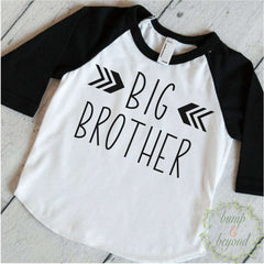 Big Brother Shirt Big Brother Announcement Shirt Baby Boy Sibling Shirt Big Brother Little Brother Shirt Big Brother Gift 131 - Bump and Beyond Designs