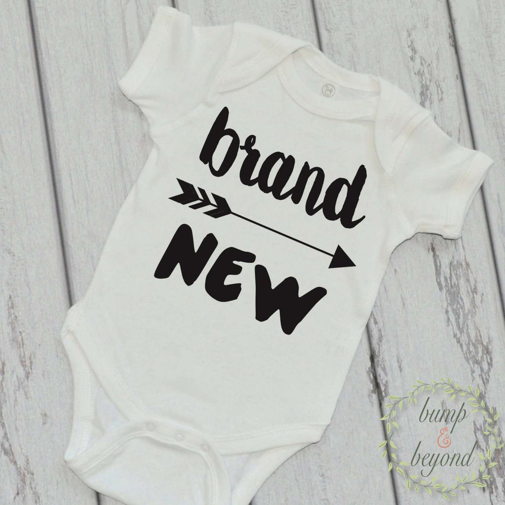 Brand New - Newborn Boy Bodysuit - Bump and Beyond Designs