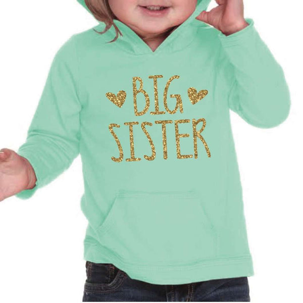 Big Sister Shirt Big Sister Announcement Sibling Big Sister Hoodie Little Sister Shirts Pregnancy Announcement Photo Prop 134 - Bump and Beyond Designs