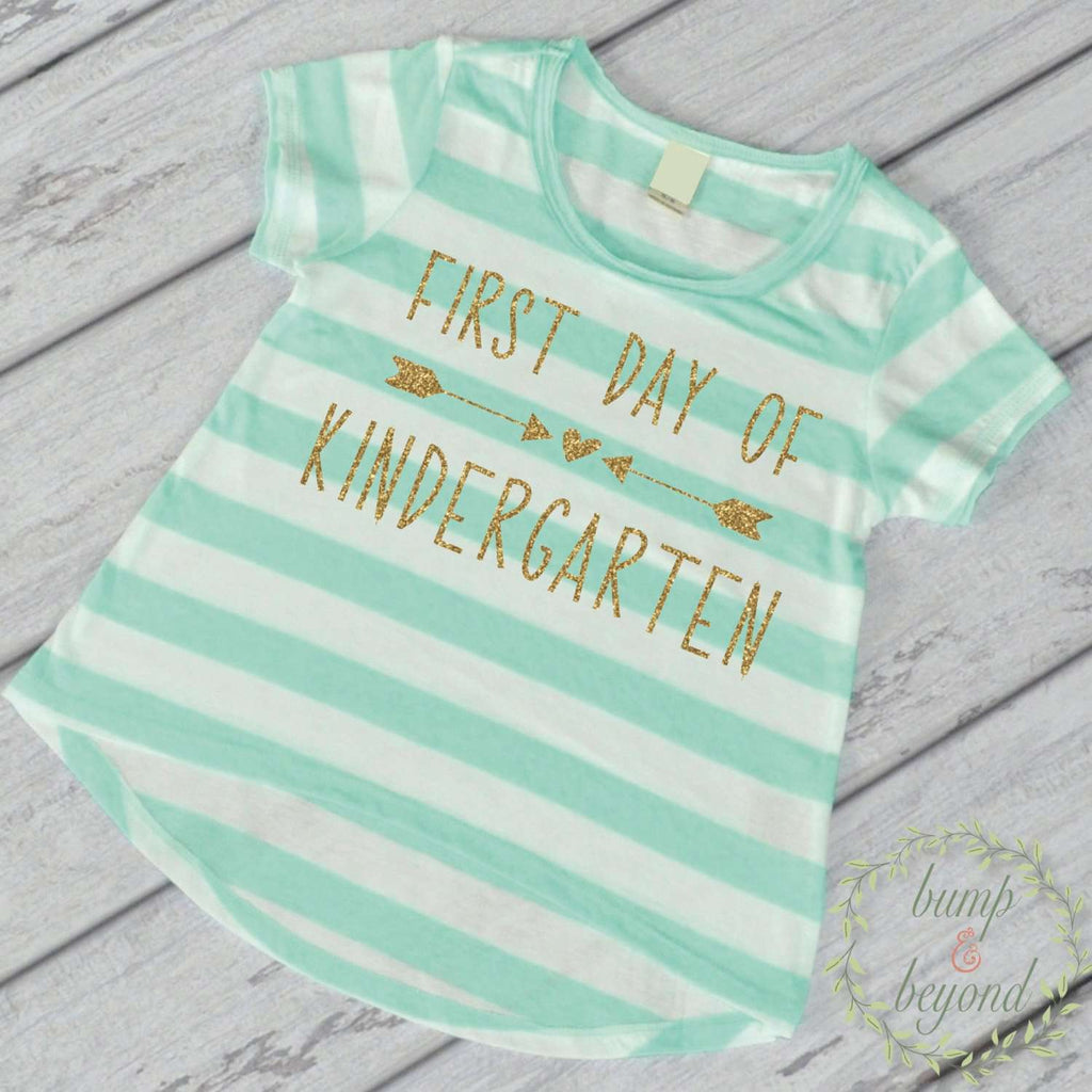 Kindergarten Shirt Kindergarten Class Shirt First Day of School Shirt 1st Day of Kindergarten Shirt Back to School Outfit 239 - Bump and Beyond Designs