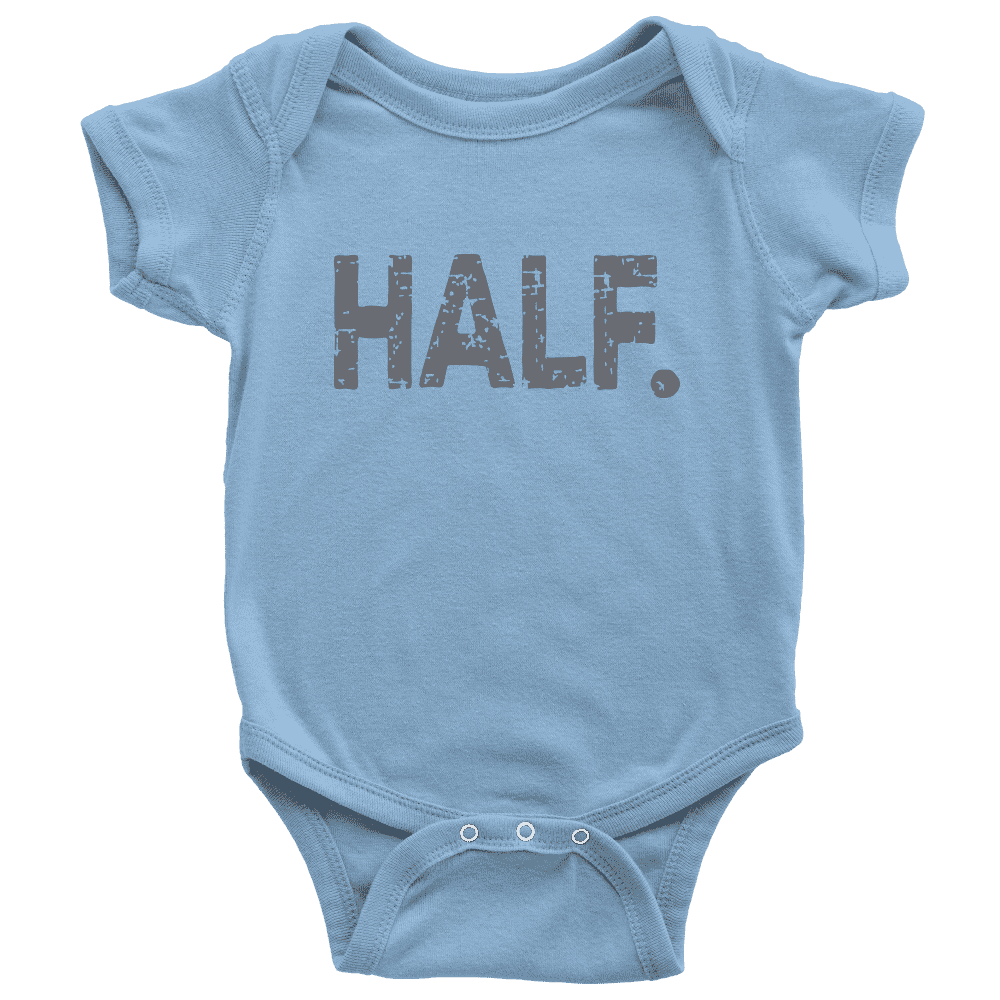 Half Birthday Onesie, 6 Month Birthday Shirt - Bump and Beyond Designs