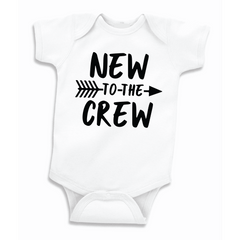 New to the Crew Pregnancy Announcement Bodysuit, Baby Shower Gift