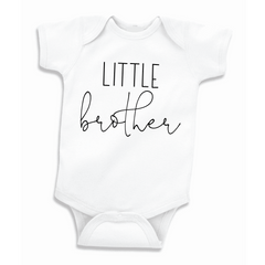Little Brother Pregnancy Announcement to Family, Gender Reveal Bodysuit