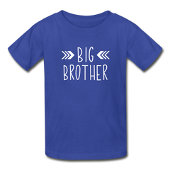 Big Brother Shirt, Hanes Youth Tagless T-Shirt - royal blue
