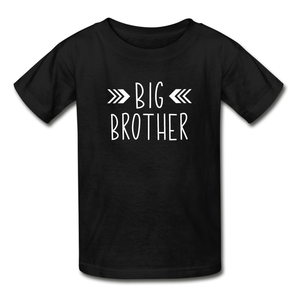 Big Brother Shirt, Hanes Youth Tagless T-Shirt - black
