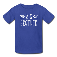 Big Brother Shirt, Kids' T-Shirt Fruit of the Loom - royal blue
