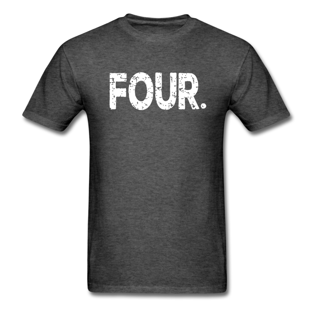 4th Birthday, Unisex Classic T-Shirt - heather black