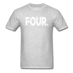 4th Birthday, Unisex Classic T-Shirt - heather gray