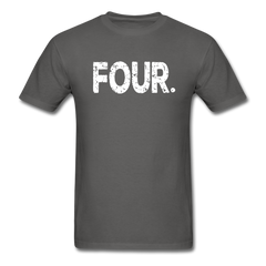 4th Birthday, Unisex Classic T-Shirt - charcoal