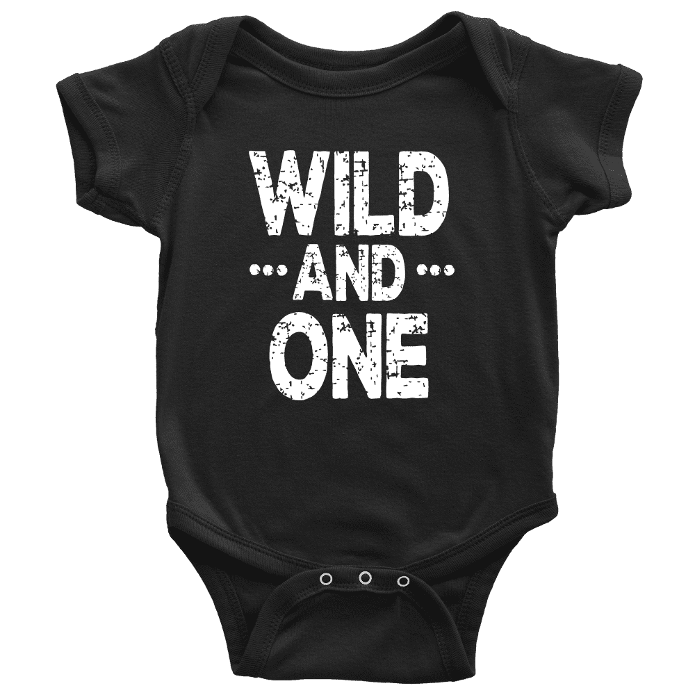 Wild and One First Birthday Bodysuit - Bump and Beyond Designs