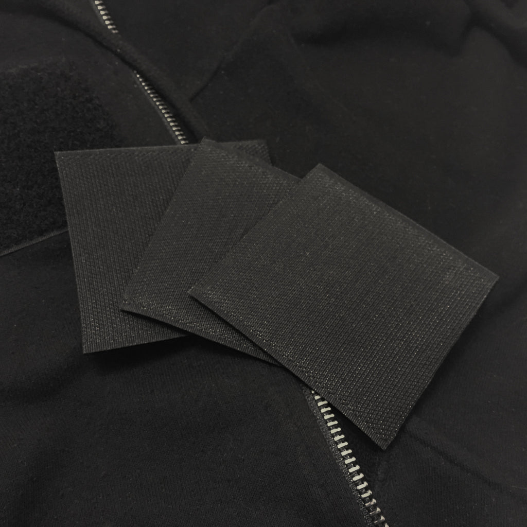 OneHoodie + Velcro Patches with Your Logo