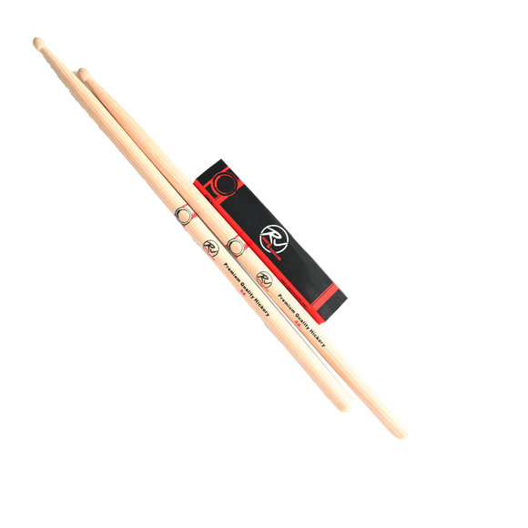 RJ Premium Drum Sticks - 5A Hickory
