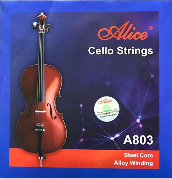 Alice Cello Strings A803