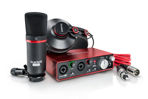 Focusrite Scarlett 2i2 Studio 2nd Gen USB Audio Interface Studio Pack