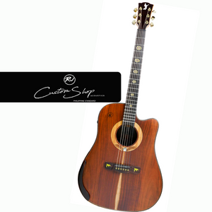 Rj Custom Shop Acoustic-Agila (Koa Koa Dreadnought Cutaway)