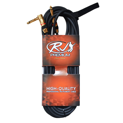 RJ Premium Professional Instrument Cable (Gold Series)
