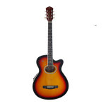 RJ Prestige Acoustic Guitar Package (Steel)