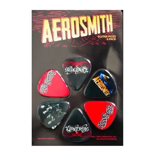 Aerosmith Picks 6 Pack