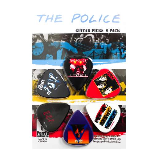 The Police Guitar Picks 6 Pack