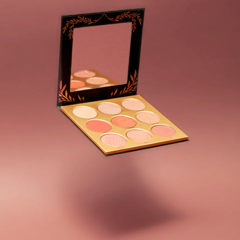 Image of Eyeshadow Palette - Athena - LARITZY Vegan and Cruelty Free Cosmetics